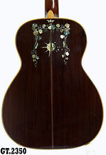 Top Degree Solid wood India-Grapes Inlaid 3 O Acoustic Guitar Nylon Strings 2350