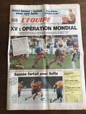 Journal l'Equipe - 6 Mars 1990 - 45 eme année - n 13633