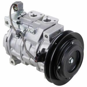 For Hino Trucks New OEM Denso 447220-5980 AC Compressor & A/C Clutch DAC