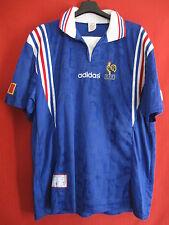 Maillot EQUIPE DE FRANCE 1996 Adidas vintage Adidas Rétro - XL