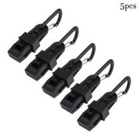 5pcs/set Awning Wind Rope Clamp Tightener Outdoor Camping H9Z9 Clip Plastic Q8Q3