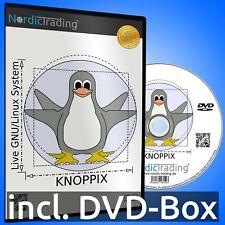 Knoppix 9.1 Linux Live-System DVD Linux Betriebssystem