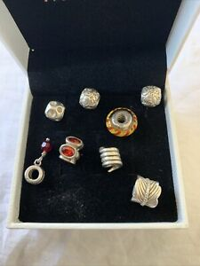 Pandora Charms Bulk Lot Of 8 In Good Used Condition 😀