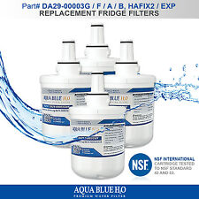 4X SAMSUNG Compatible  DA29-00003G DA29-00003F, A, B FRIDGE WATER FILTER FREE