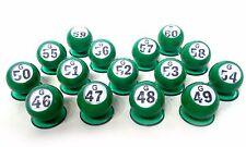 """Waiters - """"Bingo Ball"""" - Set of 15 """"G"""" Row (G46 - G60) (GM-3-17104)"""