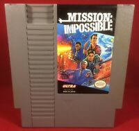 Mission: Impossible (1990) Nintendo NES W/ Cartridge ONLY!