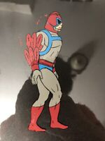 Vintage He-Man MOTU Masters Universe STRATOS Production animation cel Filmation