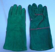 NEW Leather BBQ Rotisserie Fireplace Woodstove Gloves SIZE X-Large 1 Pr.