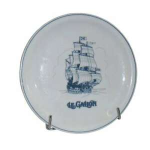 Ancienne Assiette plate en Porcelaine de Langenthal (Suisse)