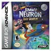 Jimmy Neutron Boy Genius - Nintendo Game Boy Advance