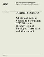 Border Security: Additional Actions Needed to Strengthen Cbp Efforts to Mit.