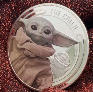 Star Wars The Mandalorian Coin Baby Yoda Collectable Coin - The Child Grogu