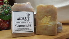 All Natural Homemade CAMEL MILK SOAP We have just made a fresh and creamy batch!