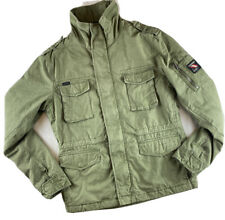 Superdry Men's Military parka Winter Jacket Genuine Brand new Green Colour
