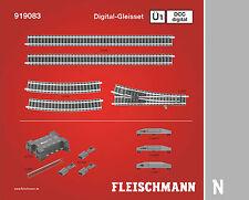 Fleischmann N 919083 Profi-Gleis DCC Digital-Gleisset Ü1 - NEU + OVP