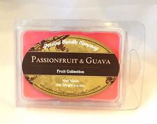 Passionfruit and Guava 2.5oz Soy Wax Melts Scent Fruit One Package Sugar Sweet