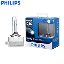 Philips D3S 35W 42403WX Ultinon HID Xenon Lamp Car 6000K Pure White Light 2X