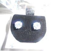 Stud Earrings 5mm Round lab created Diamonds Mens Womens UK Made