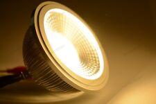 10x AR111 COB 12W SHARP FARETTO DIMMERABILE LED BIANCO CALDO 120° 220V DIRETTI