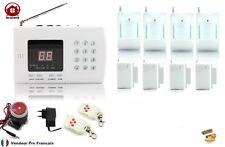 Kit Système d'alarme de maison sans fil  auto appel téléphonique Kit-4-4
