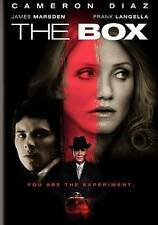 THE BOX DVD (2010) James Marsden Cameron Diaz