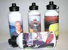 Personalized Aluminum Water Bottle with your Custom Design, Text, or Logo
