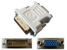 Adaptateur DVI (DVI-I DUAL LINK) 24+5 Male  VGA Femelle