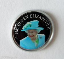 HM QUEEN ELIZABETH II PIN BADGE