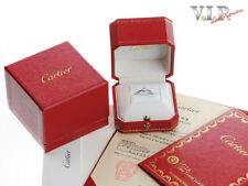 CARTIER 1895 SOLITAIRE RING PLATIN 0,18ct. DIAMANT BRILLANT 950 PLATINUM DIAMOND