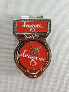 """Divvy Dragon """" Send Me Your Heroes"""" Golf Money Clip Collectible Accessory"""