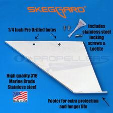 Skeg guard , Skeggard Outboard/ Sterndrive Skeg Protector Stainless Steel
