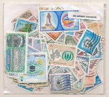 Arabia Saudi       US 200 sellos diferentes