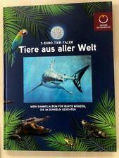 Verzamelalbum 12 munten 3 Euro *Tiere aus aller Welt* Oostenrijk