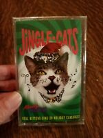 Jingle Cats Meowy Christmas Cassette New/Sealed 1993 Rare