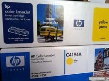 ORIGINALE HP toner per Color LaserJet 4500, 4550 giallo, 6000 pagine, c4194a