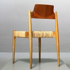 1 (v. 8) Dining Chair Egon Eiermann Wilde+Spieth SE19 Esszimmer Stuhl xx% MwSt.