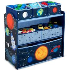 Delta Children Space Adventures Design and Store Toy Organizer Kids Room New