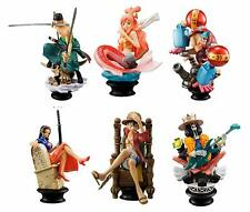 One Piece Chess Collection 6pc Action Figures Set R Luffy Franky Zoro Shirahoshi