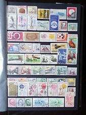 COLLECTION OF CZECHOSLOVAKIA CZECH STAMPS (2)