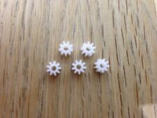 Scalextric Spares - 9 Tooth Pinion - Spur Gears - Slot Car Spares X 5