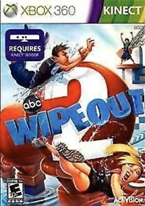 Wipeout 2 Xbox 360 Kids Kinect Game ABC Family Tv Game Show Very Good