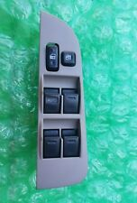 98 - 02 TOYOTA COROLLA FRONT DRIVER LEFT SIDE MASTER POWER WINDOW SWITCH TAUPE