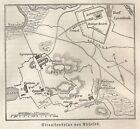 B0836 Ephesus - Carta geografica d'epoca - 1890 Vintage map
