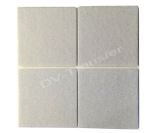 Grey 4x Square Self Adhesive Wooden Flooring Protection Felt pads