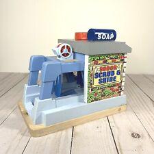Thomas the Train Wooden Railway Sodor Scrub & Shine -- Collectible!