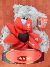 "Me To You 'Love Me' Flower Valentines Tatty Teddy Bear/Gift 6"" - longer hair"