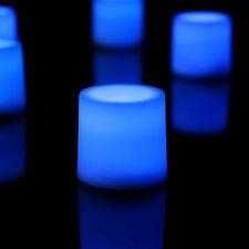 12 LED Constant Flamme Bougie décorative éclairage d'ambiance - Bleu Par