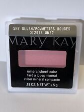 Mary Kay Discontinued Mineral Cheek Color Shy Blush