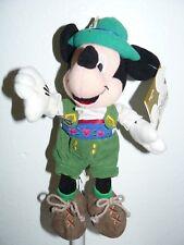 "Disneyland Globe-Trotting German Mickey Bean Bag 7"""