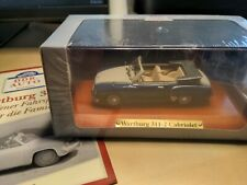 Atlas Verlag 1/43: Wartburg 311-2 Cabriolet, blau/beige - DDR-Auto-Kollektion